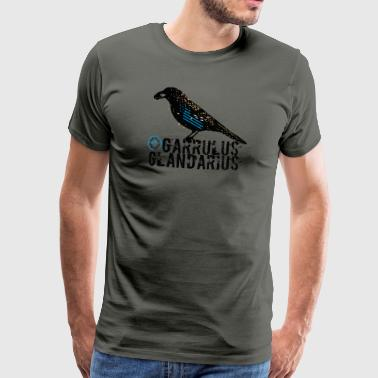 Spirit Animal Eichelhäher (Bogensport by BOWTIQUE) - Männer Premium T-Shirt