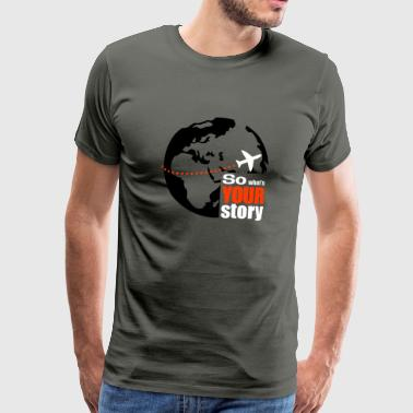 So what's your story - Premium-T-shirt herr