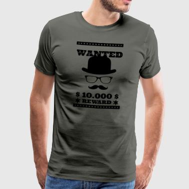 Wanted Dead or Alive - Männer Premium T-Shirt