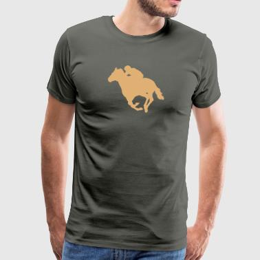 Caballo Horse racing - Men's Premium T-Shirt