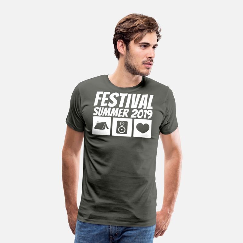 De 2019 Festival Verano Premium Asfalto Camisetas Camiseta Hombre 0wOnkP