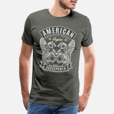 American Icon Iconic American muscle car - Men's Premium T-Shirt