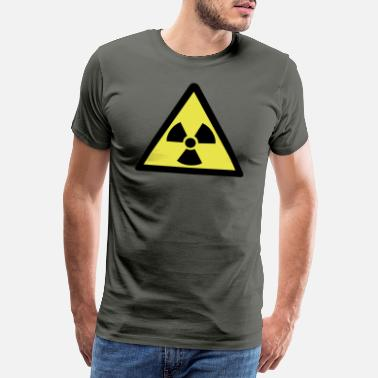 Chernobyl Radioactive Warning Symbol - Men's Premium T-Shirt