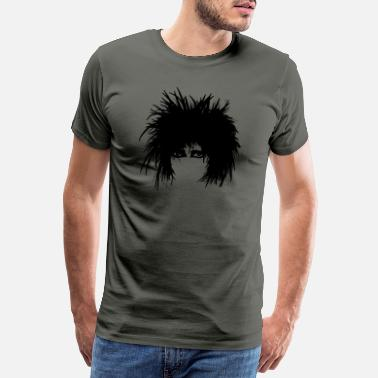 Hampshire gothic punk new wave 80s Susan black - Herre premium T-shirt