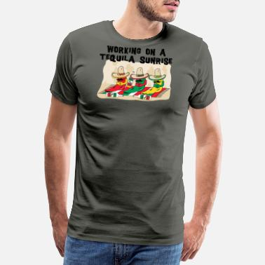 Tequila Sunrise Tequila Sunrise - Men's Premium T-Shirt