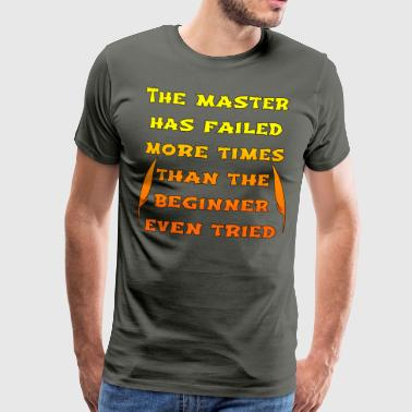 master orange - Herre premium T-shirt