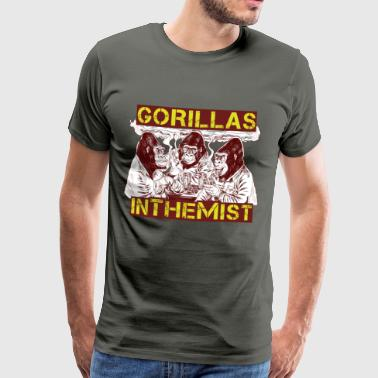GORILLAS IN THE MIST - Men's Premium T-Shirt