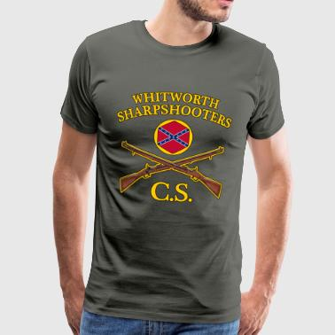 confederate army - Men's Premium T-Shirt