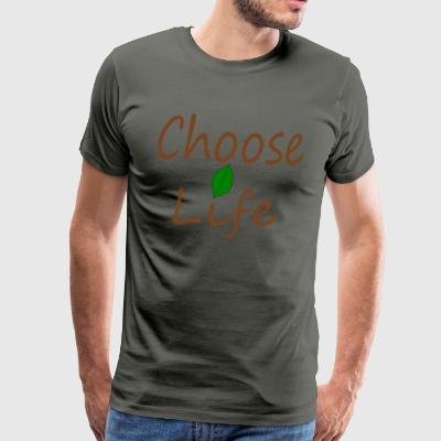 Choose Life - Men's Premium T-Shirt