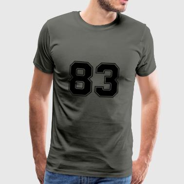 TRUE83 - Herre premium T-shirt