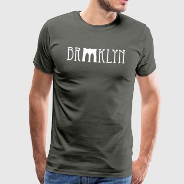 Brooklyn bridge - Premium-T-shirt herr