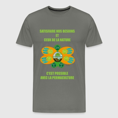 Ethics and Principles of Permaculture - Men's Premium T-Shirt
