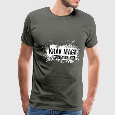 krav maga contamination - Men's Premium T-Shirt