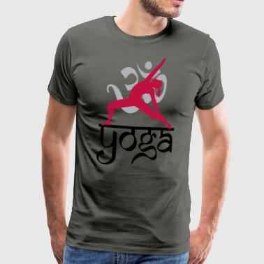 Yoga OM - Men's Premium T-Shirt