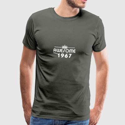 Gift for 50 years in 1967 - Men's Premium T-Shirt