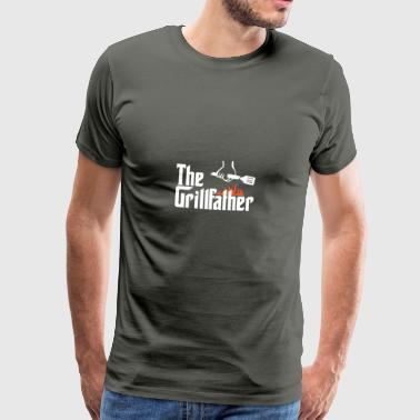 den Grillfather - Premium T-skjorte for menn