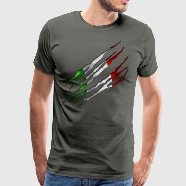 Italy Slit open 001 AllroundDesigns - Men's Premium T-Shirt