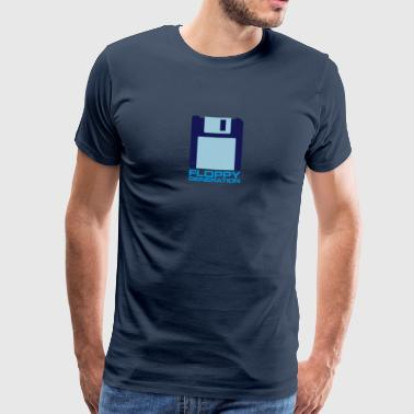 Floppy Generation 3.5 - Premium-T-shirt herr