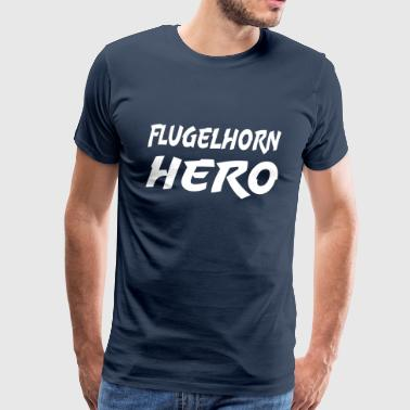 Flugelhorn Hero - Men's Premium T-Shirt