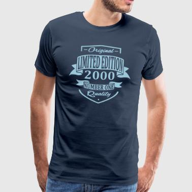 Limited Edition 2000 - Mannen Premium T-shirt