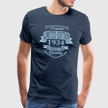 Limited Edition 1934 - Männer Premium T-Shirt