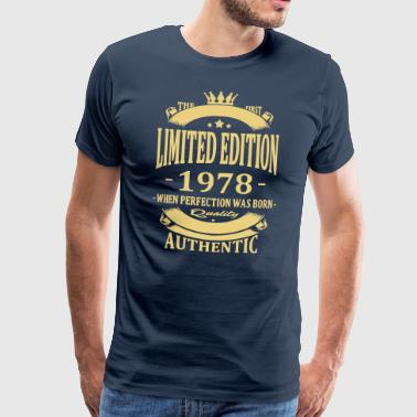 Limited Edition 1978 - Premium T-skjorte for menn