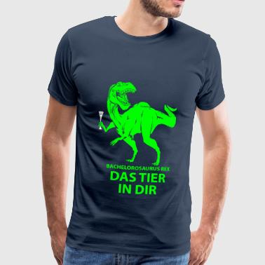 Party Saurus - Männer Premium T-Shirt