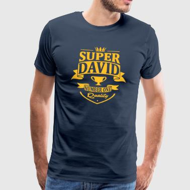 Super David - T-shirt Premium Homme