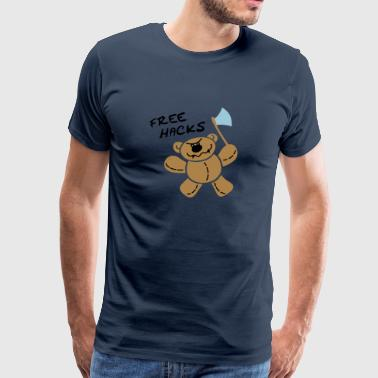 Killer Teddy-Bear Hoodies & Sweatshirts - Men's Premium T-Shirt