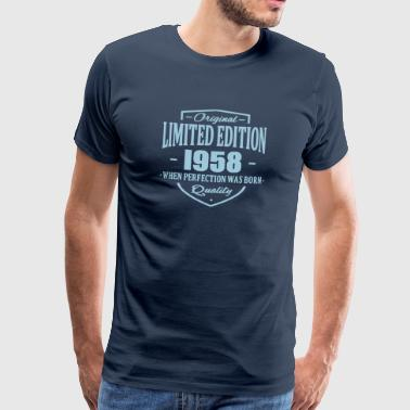 Limited Edition 1958 - Men's Premium T-Shirt