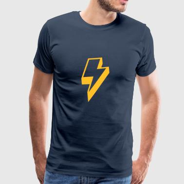 Flash Blitz - Männer Premium T-Shirt