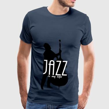 jazz is my life - Männer Premium T-Shirt