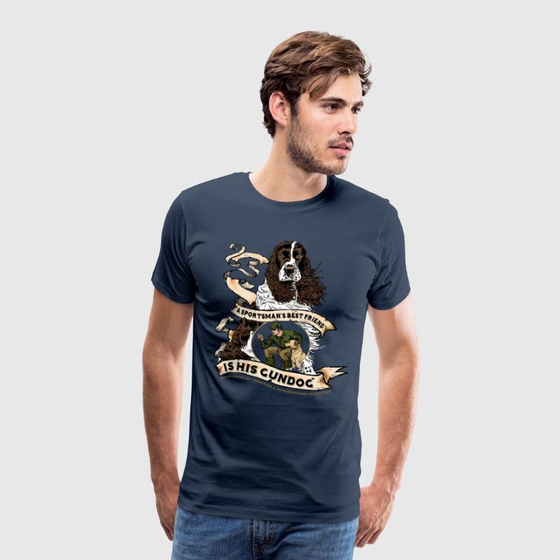 gundog_best_friend - Men's Premium T-Shirt