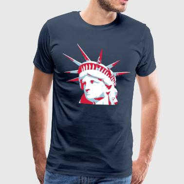Lady Liberty Lady Liberty - Men's Premium T-Shirt