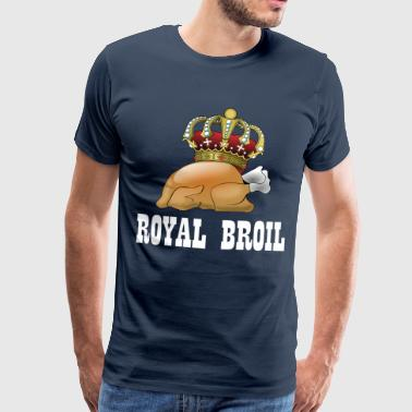 Royal Broil broiler chicken chicken wings gift - Men's Premium T-Shirt