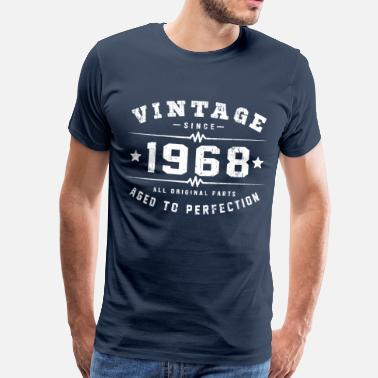 In 1968 Vintage 1968 Birthday - Men's Premium T-Shirt