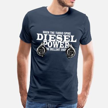 Diesel Power Diesel Power Shirt Powerstroke Diesel Power Gear - T-shirt Premium Homme