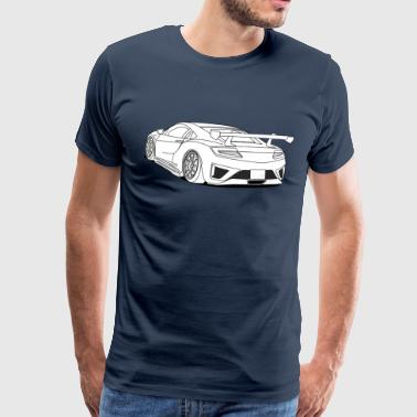 cool car white - Camiseta premium hombre