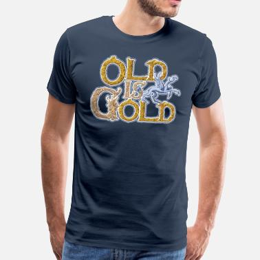 Old is Gold - Men's Premium T-Shirt