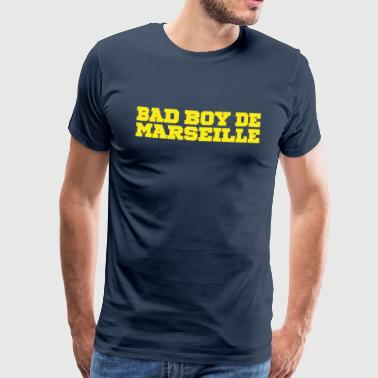 Bad Boy Marseille Bruk gul - Premium T-skjorte for menn