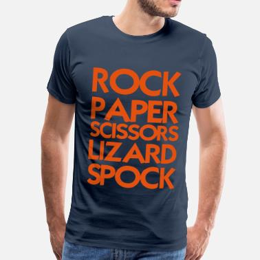 Rock Paper Scissors Lizard Spock - Men's Premium T-Shirt
