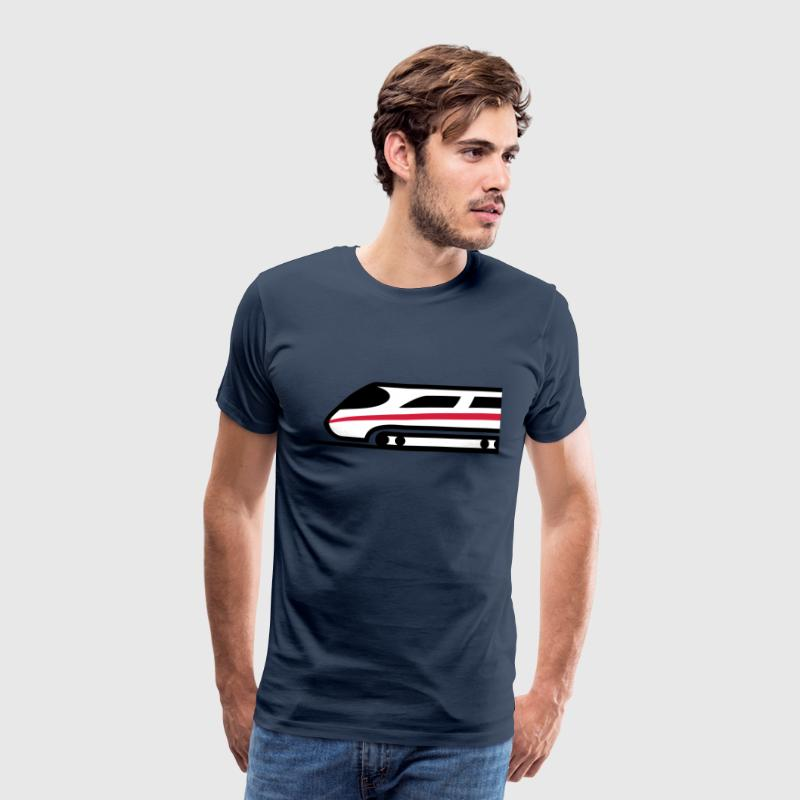 Express Train Logo - Men's Premium T-Shirt