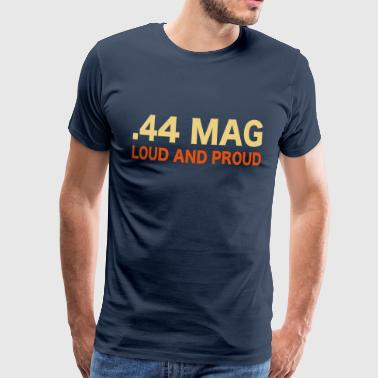 Clint Eastwood 44 magnum guns shooting - Men's Premium T-Shirt