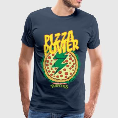 Tortues Ninja Pizza Power Carapace - T-shirt Premium Homme