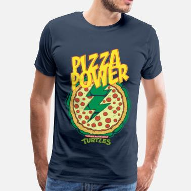 Tmnt TMNT Turtles Pizza Power Shield - Men's Premium T-Shirt