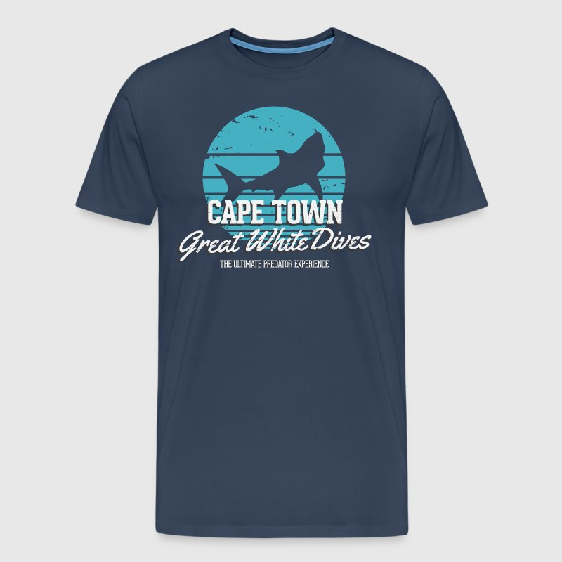 Cape Town Great White Shark Dives - Men's Premium T-Shirt