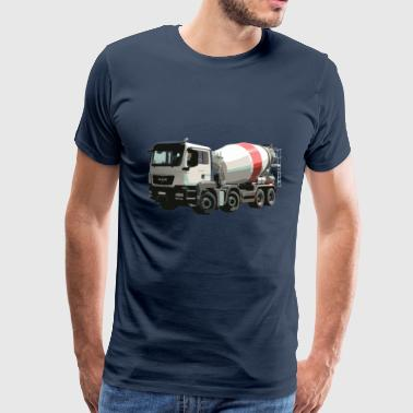 Concrete mixers - Men's Premium T-Shirt