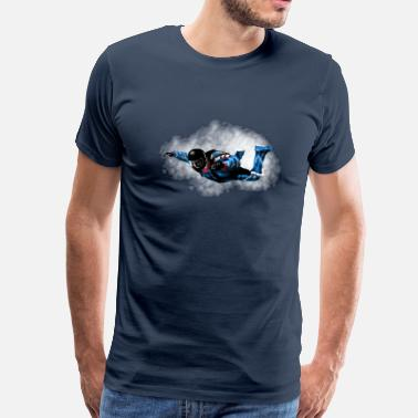 Skydive skydiver - T-shirt Premium Homme