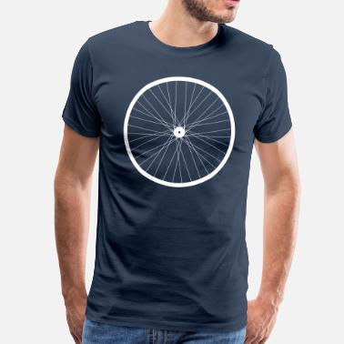 Wheels Rim  bike rim - Men's Premium T-Shirt