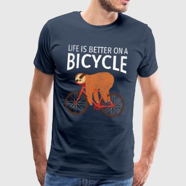Life Is Better On A Bicycle - Koszulka męska Premium